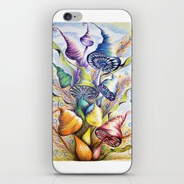 Wizard Mushrooms iPhone Skin