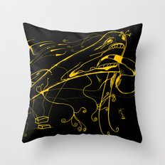 Grito Throw Pillow