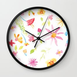 FLORINA PATTERN Wall Clock
