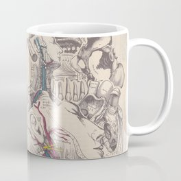 Anatomy Collage 6 Coffee Mug