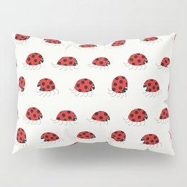 Ladybug rush - Pattern Pillow Sham
