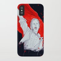 enjolras iPhone & iPod Cases featuring Enjolras by 723blinks
