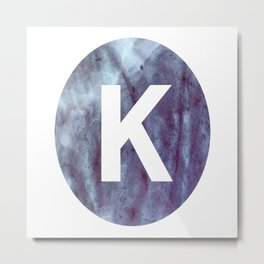The Letter K Metal Print