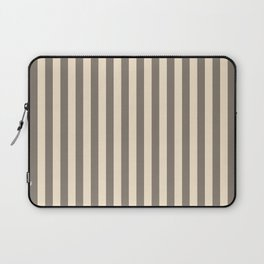 Champagne Stripes Pattern Laptop Sleeve