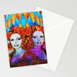 """Just One More Girl and a Flame Tree"" by surrealpete Stationery Cards"