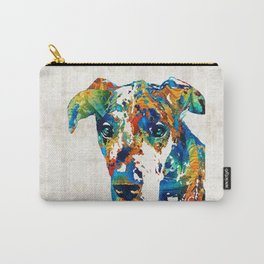 Colorful Great Dane Art Dog By Sharon Cummings Carry-All Pouch