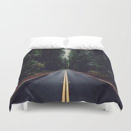 The woods have eyes Duvet Cover