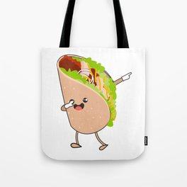 Dabbing Taco Cinco de Mayo Mexican Tote Bag