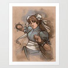Chun Li Art Print