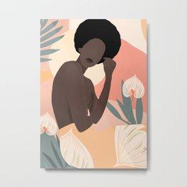 Tropical Girl 18 Metal Print