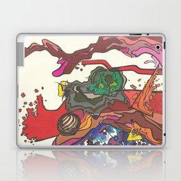 Skull Flux Laptop & iPad Skin