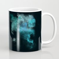 psychology Mugs featuring a cold nebula by Gabrielle Agius