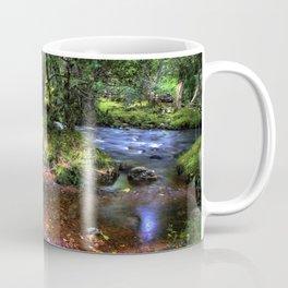 Quietly Flows The River Dart Coffee Mug
