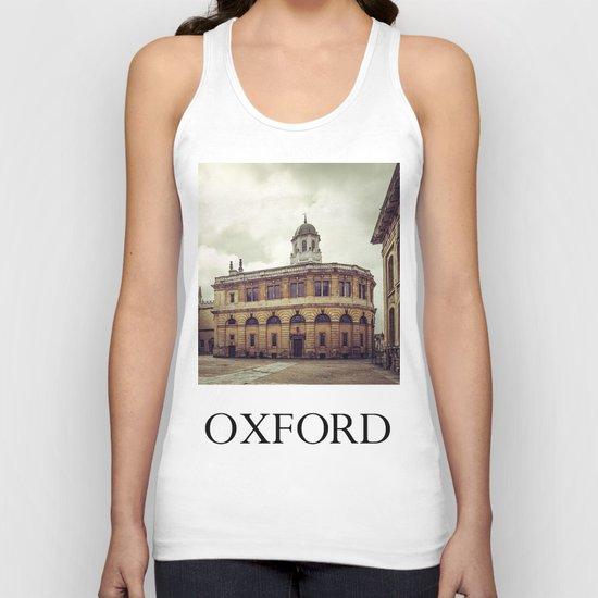 Oxford: Sheldonian Theater Unisex Tank Top