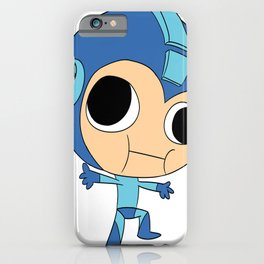 Silly Megaman iPhone Case