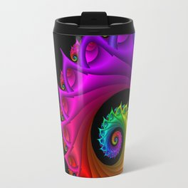 life is colorful -3- Travel Mug