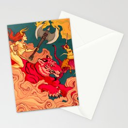 The Conquering of Man Stationery Cards