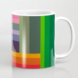 """Moment #9"" Montana Gold Spray Paint on Birch Panel 11″ x 14″ x 1.5"" *Original Sold  Coffee Mug"
