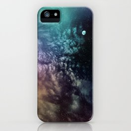 Polychrome Moon iPhone Case