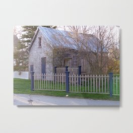 Colonial Shed  Metal Print