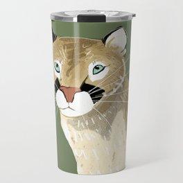 Caturday Puma Travel Mug