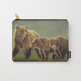 MAMA GRIZZ FIERCE AND FREE Carry-All Pouch