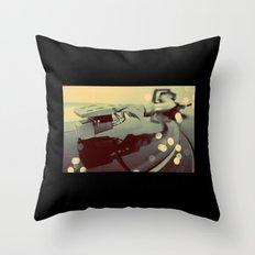 Turntablism Throw Pillow