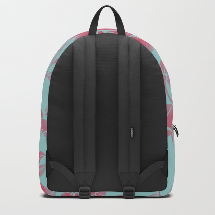 Wild Flower Red Backpack
