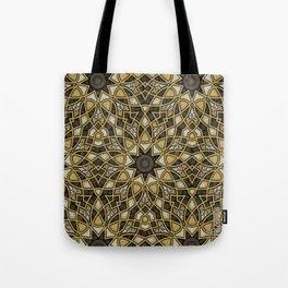 Weaving Pattern Tote Bag