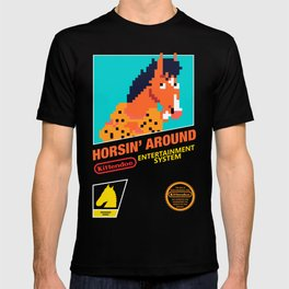 Classic 90s Sitcom based Games - Horse Edition T-shirt