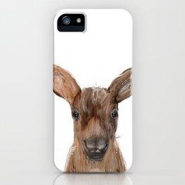 littlest moose iPhone Case