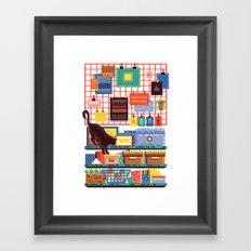 Shelving Units 04 Framed Art Print