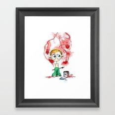 Little Coriolanus Framed Art Print