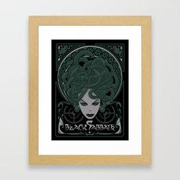 Steampunk Medusa Framed Art Print