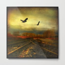 Flight Of The Blackbirds Metal Print