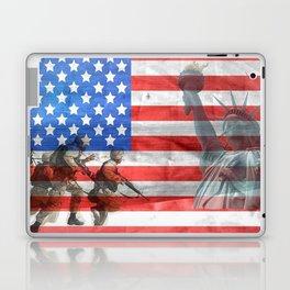 Veterans American Flag Laptop & iPad Skin