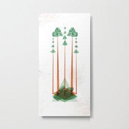 3Lives - Plant Metal Print
