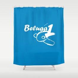 Beluga 1 Shower Curtain