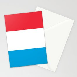 Luxembourg Flag Luxembourgish Patriotic Stationery Cards