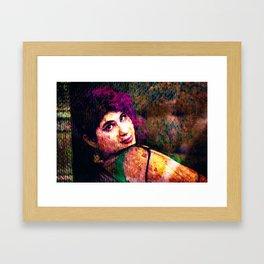Megan Framed Art Print