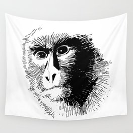 The Monkey! Wall Tapestry