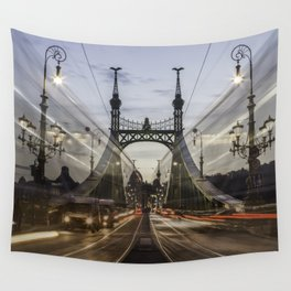 Budapest traffic Wall Tapestry