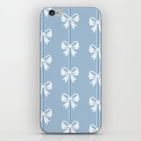bows iPhone & iPod Skins featuring Bows by Pink Berry Patterns