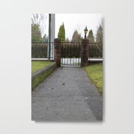 Front walk Metal Print