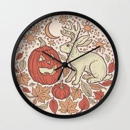 Halloween Friends | Autumn Palette Wall Clock