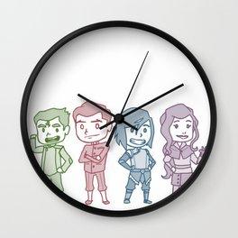 Korra Krew Wall Clock