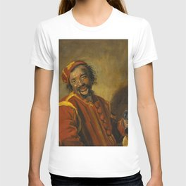 "Frans Hals ""Laughing man with crock, known as 'Peeckelhaeringh or 'Pekelharing'"" T-shirt"