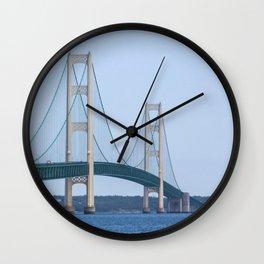 The Mighty Ducks of Mackinac Wall Clock