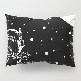 DINOSAUR IN SPACE! Pillow Sham