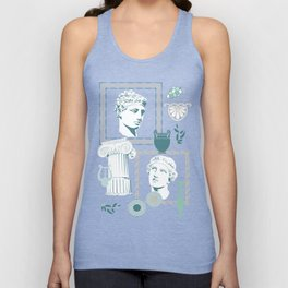 Ancient Greece Unisex Tank Top